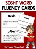 Sight Word Fluency Flashcards for Struggling Readers (Set 2)