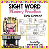 FREE Sight Word Fluency Practice - 1st Grade