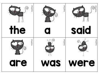 FREE! Sight Word Memory Game