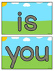 FREE Sight Word Playdough Mats - Fry Words 1-8