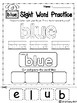 FREE Sight Word Practice ( Pre-Primer )