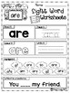 FREE Sight Word Worksheets (Primer)