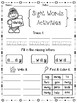 FREE Sight Words Activities Set 2 (Pre-Primer)