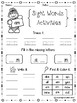 FREE Sight Words Activities Set 2 (Primer)