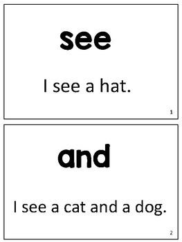 FREE Sight Word Fluency Sentences for Struggling Readers