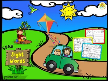 FREE Sight Words ~ Pre-K