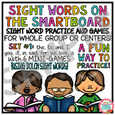 FREE SMARTBOARD Sight Words and Interactive Mini Game - Sample