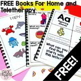 FREE Simple Vocabulary, Alphabet, and Social Skills Books
