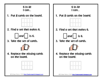 FREE Six in All- A Number Combinations Game