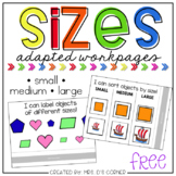 FREE Sizes Adapted Work Binder - Small, Medium, Large
