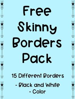 FREE Skinny Borders Pack