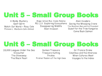 FREE Small Group Book Box Labels - National Geographic Reach for Reading-Grade 4