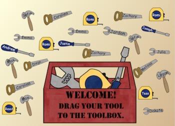 FREE Smartboard Attendance File - Toolbox