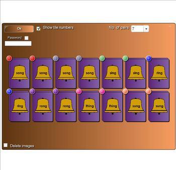 FREE Smartboard Game Jingle Bell Word Families