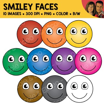 FREE Smiley Face Clipart