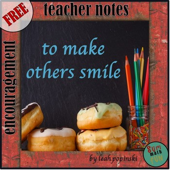 FREE Teacher Appreciation Notes