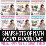FREE Snapshots of Math Word Problems SAMPLER FREEBIE Using