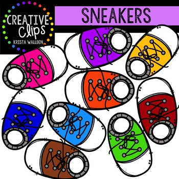 FREE Sneakers {Creative Clips Digital Clipart}