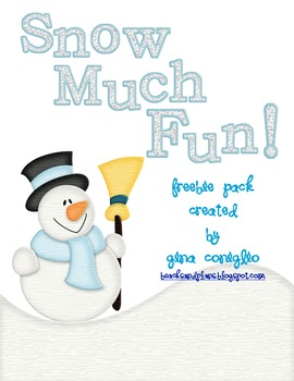 FREE Snow Much Fun Pack