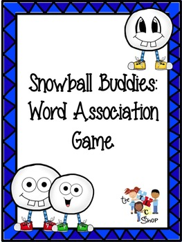 FREE! Snowball Buddies: Word Associations