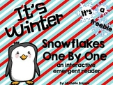 FREE Snowflake Counting Emergent Reader Adapted for Special Ed. / Autism