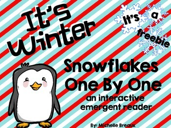 FREE Snowflake Counting Emergent Reader Adapted for Specia