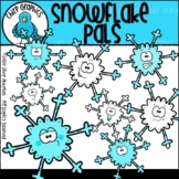 {FLASH FREEBIE} Snowflake Pals Clip Art Set - Chirp Graphics