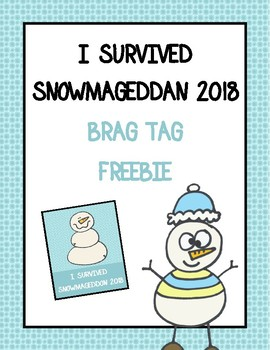 FREE Snowmageddan 2018 Brag Tags