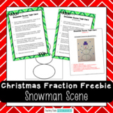 Free Christmas Math Center - Fun Christmas Fraction Art Activity