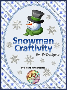 FREE - Holiday Craftivity - Snowman