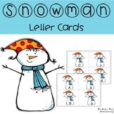 Snowman Letter Cards