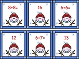 FREE Snowman Memory addition facts to 20