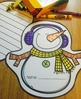 FREE Snowman Shape Book Sample {Made by Creative Clips Clipart}