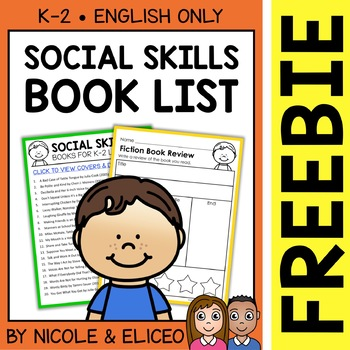 FREE Social Skills Activities and Book List