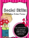 FREE: Social Skills: Valentine's Order Forms
