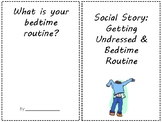 FREE Social Story: Getting Undressed & Bedtime Routine