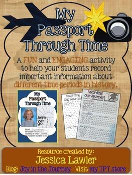 FREE Social Studies Test Review Tool: Passport Through Time