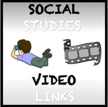 FREE Engaging Social Studies Video Links for Global History for all grade levels
