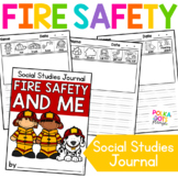 FREE Social Studies Writing Journal - Fire Safety