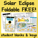 FREE Solar Eclipse Foldable FREE by Science and Math Doodles