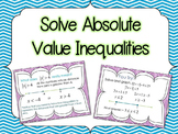 FREE Solve Absolute Value Inequalities PowerPoint