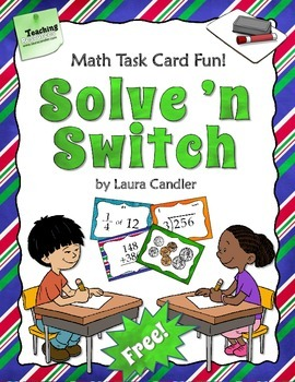 FREE Solve 'n Switch Partner Activity