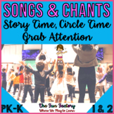 Songs for Storytime Circle Time and Attention