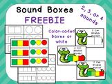 FREE Sound Boxes for Phoneme Segmentation for Preschool  K