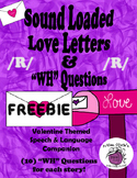"FREE Sound Loaded Love Letter for ~R~ with ""wh"" Questions"