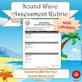 FREE: Sound Wave NGSS 1-PS Rubric (Generic Version)
