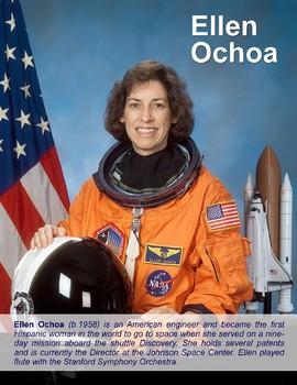 FREE - Space: Astronaut Ellen Ochoa Poster (K-12)