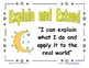 FREE Space Theme Math CAFE posters
