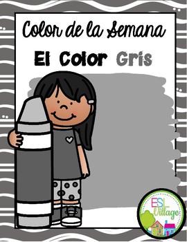 In Spanish | Gray {el color gris}