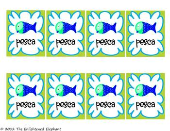 photo about Printable Go Fish Cards named Free of charge Spanish Times and Weeks Transfer Fish Card Sport